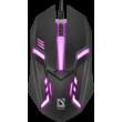 Мышь Defender Сyber MB-560L Black (52560)
